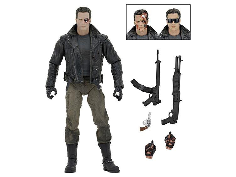 "Terminator 7"" Action Figure Ultimate Police Station Assault T-800 - NECA - Woozy Moo"