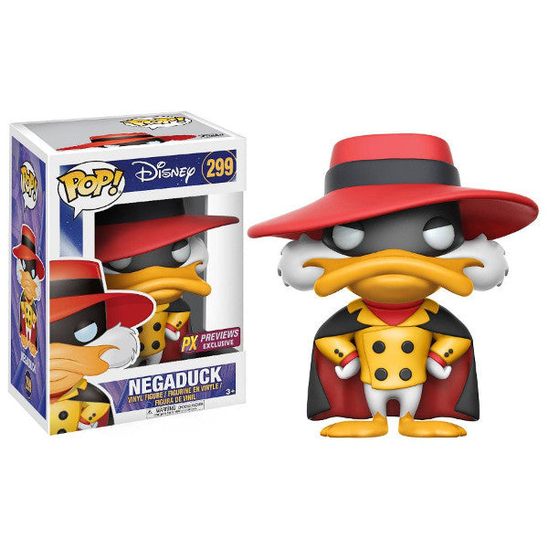 Negaduck (Exclusive) - Darkwing Duck (Disney) - Pop! Vinyl Figure - Funko - Woozy Moo