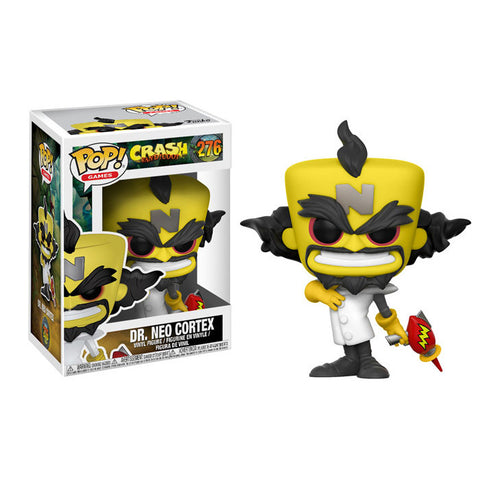 Neo Cortex Crash Bandicoot Pop Games Vinyl Figure 276