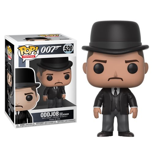 Oddjob from Goldfinger | 007 | POP! Movies Vinyl Figure #520 | Funko | Woozy Moo
