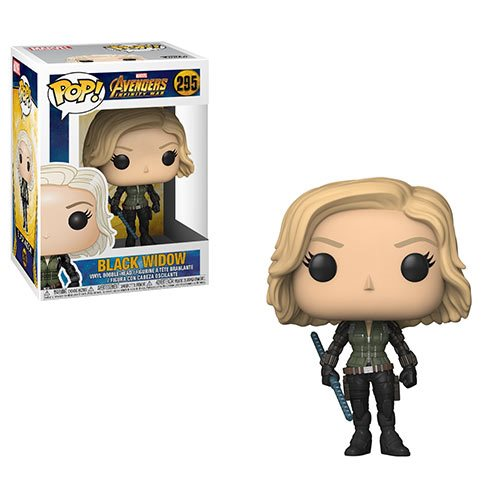 Black Widow | Avengers: Infinity War | POP! Marvel Vinyl Figure 295 | Funko | Woozy Moo