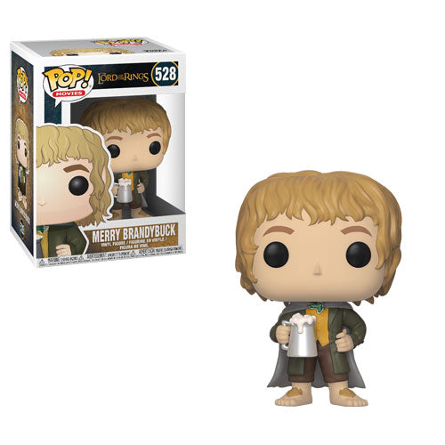 Merry Brandybuck | The Lord of the Rings | POP! Movies Vinyl Figure 528 | Funko | Woozy Moo