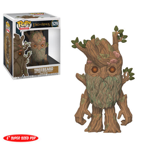 "Treebeard | The Lord of the Rings | 6"" Super-Sized POP! Movies Vinyl Figure 529 
