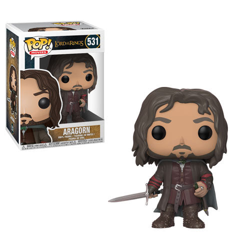 Aragorn | The Lord of the Rings | POP! Movies Vinyl Figure 531 | Funko | Woozy Moo