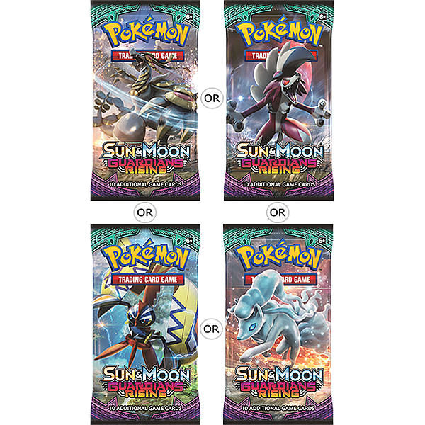 Pokemon Trading Card Game - Sun & Moon: Guardians Rising - Booster Pack (10 Cards) - Woozy Moo