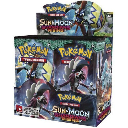 Pokemon Trading Card Game - Sun & Moon: Guardians Rising - Booster Pack Box (36 Packs) - Woozy Moo