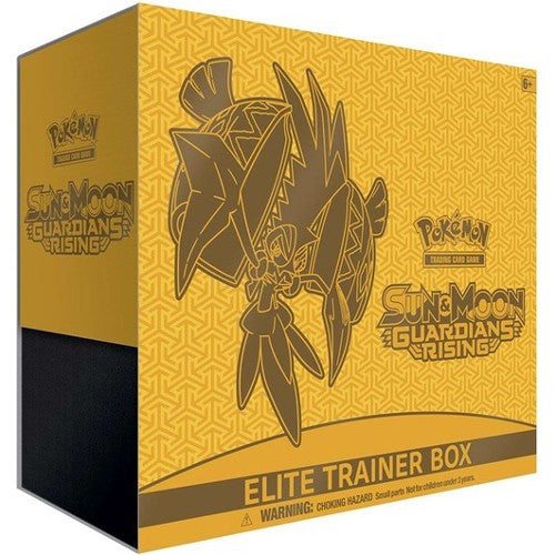 Tapu Koko - Sun & Moon: Guardians Rising - Elite Trainer Box - Pokemon Trading Card Game - Woozy Moo