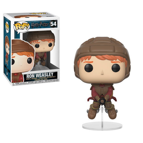 Ron Weasley on Broom | Harry Potter | POP! Vinyl Figure 54 | Funko | Woozy Moo