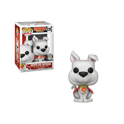 Krypto the Superdog (Specialty Series Exclusive) | DC Comics | POP! Heroes 235 Vinyl Figure | Woozy Moo