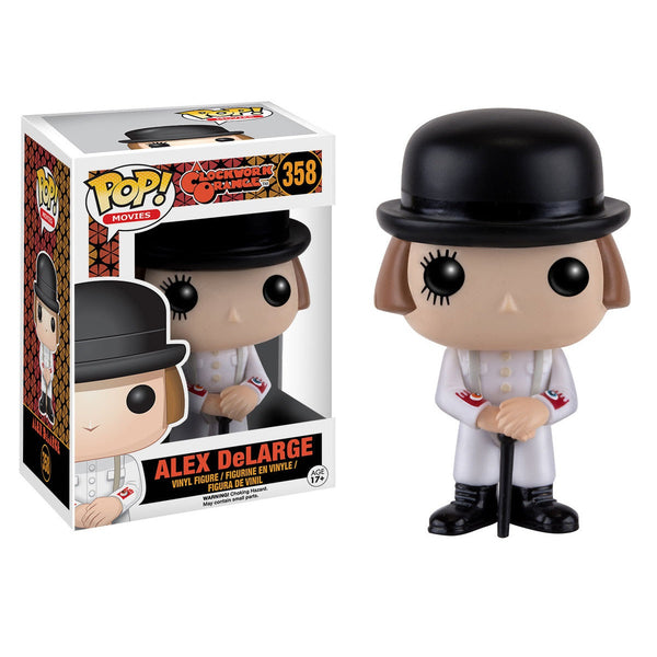 A Clockwork Orange - Alex DeOrange Pop! Vinyl Figure - Funko - Woozy Moo