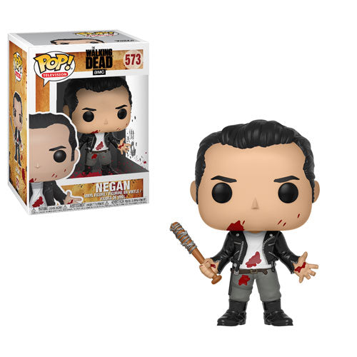 Negan (Clean-shaven) | The Walking Dead | POP! Television Vinyl Figure 573 | Funko | Woozy Moo