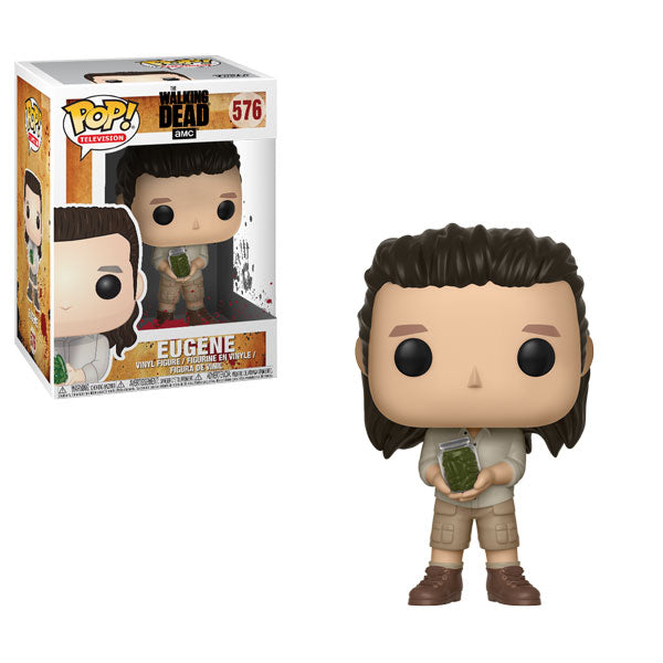 Eugene | The Walking Dead | POP! Television Vinyl Figure 576 | Funko | Woozy Moo