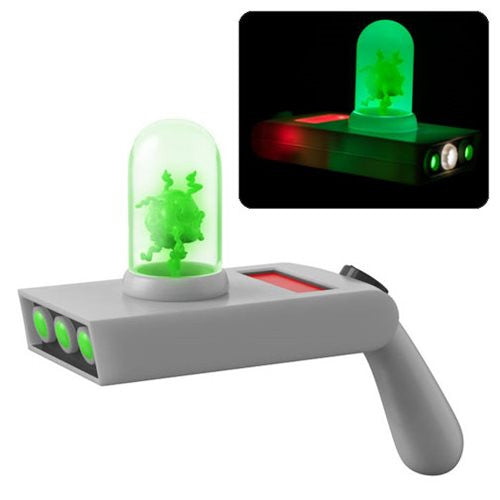 Portal Gun | Rick and Morty | Light-Up Prop Replica with Sound | Funko | Woozy Moo