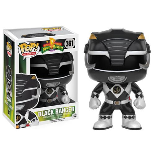 Mighty Morphin' Power Rangers Black Ranger Pop! Vinyl Figure - Funko - Woozy Moo