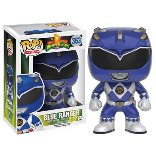 Mighty Morphin' Power Rangers Blue Ranger Pop! Vinyl Figure - Funko - Woozy Moo