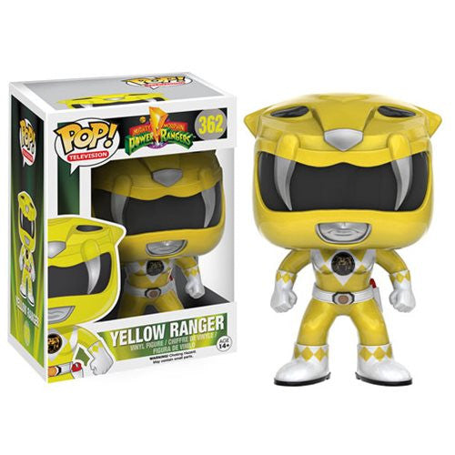 Mighty Morphin' Power Rangers Yellow Ranger Pop! Vinyl Figure - Funko - Woozy Moo