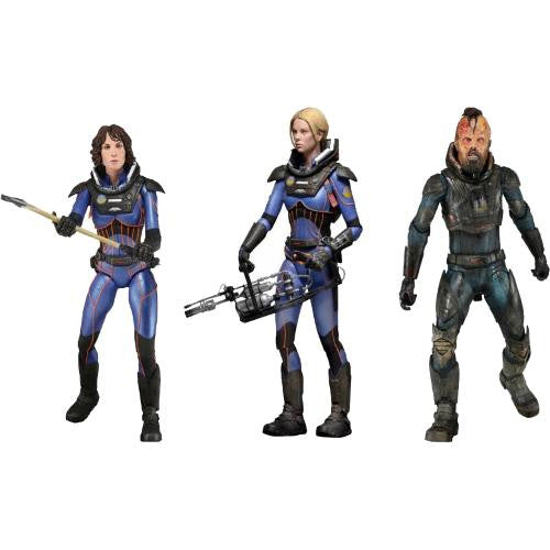 "Prometheus – Series 4 The Lost Wave Assortment 7"" Deluxe Action Figures - NECA - Woozy Moo - 1"
