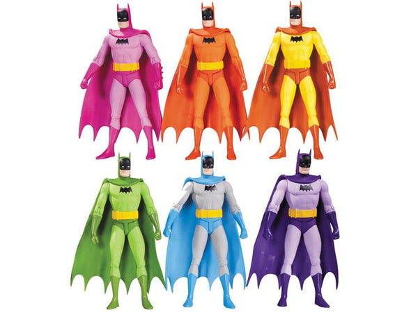 Batman Rainbow Action Figure Six Pack - DC Collectibles - Woozy Moo