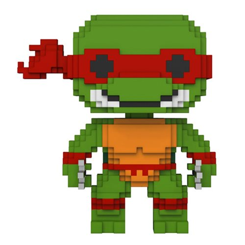 Raphael | Teenage Mutant Ninja Turtles | 8-Bit POP! Vinyl Figure #06 | Funko | Woozy Moo