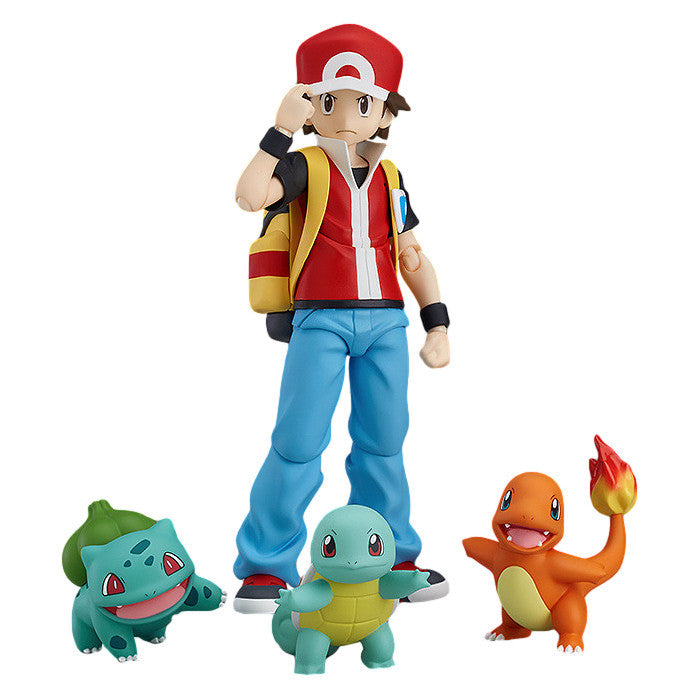 Red - Pocket Monster (Pokémon) - figma 356 - Good Smile Company / Max Factory - Woozy Moo