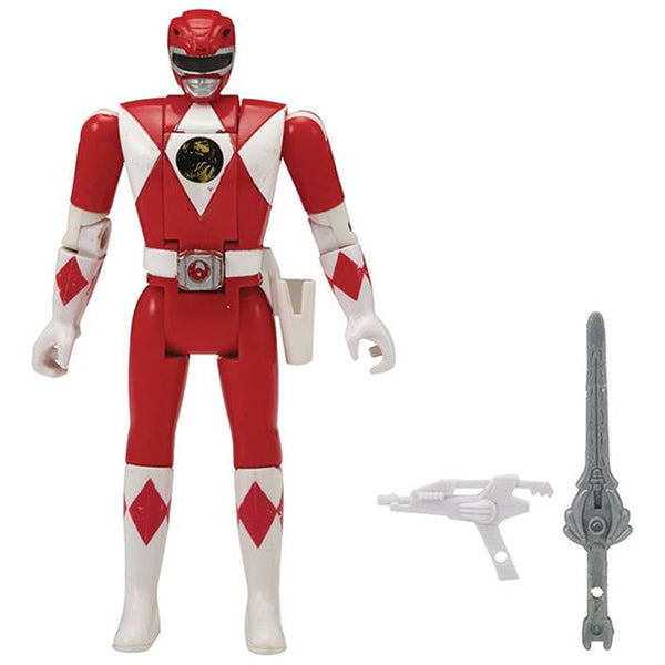 "Red Ranger | Mighty Morphin Power Rangers Legacy Head Morph 5"" Action Figure 