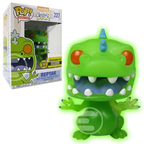 Reptar (Glows in the Dark, Exclusive) | Rugrats (Nickelodeon) | POP! Animation Vinyl Figure #227 | Funko | Woozy Moo