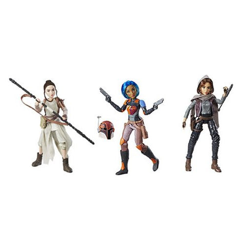Star Wars Forces of Destiny Adventure Figures Wave 1 Set of 3