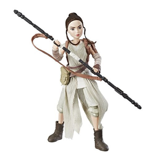 Rey of Jakku | Star Wars: Forces of Destiny | Adventure Figure | Hasbro | Woozy Moo