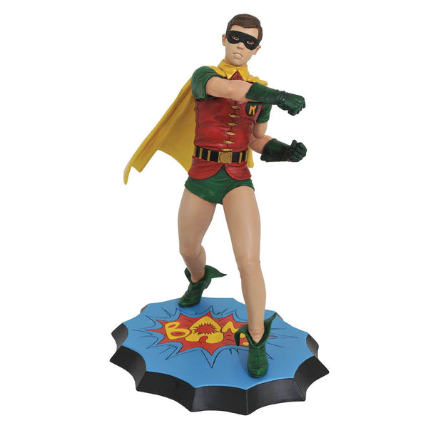 Robin (Burt Ward) - Batman 1966 TV - Premier Collection Resin Statue - Diamond Select Toys / Jean St. Jean - Woozy Moo
