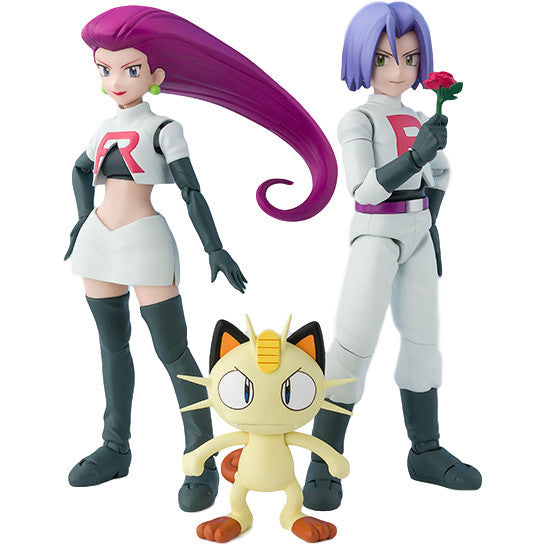 Rocket Team - Pokemon - S.H.Figuarts - Bandai Tamashii Nations - Woozy Moo