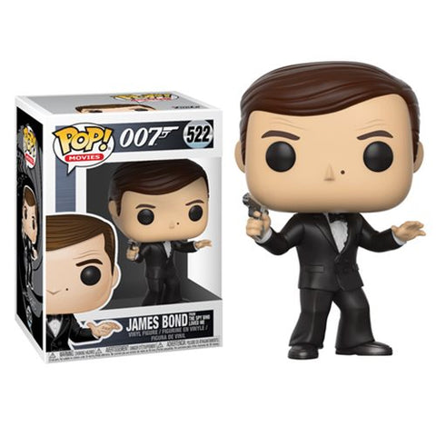Roger Moore James Bond The Spy Who Loved Me 007 Pop Movies Vinyl Figure 522
