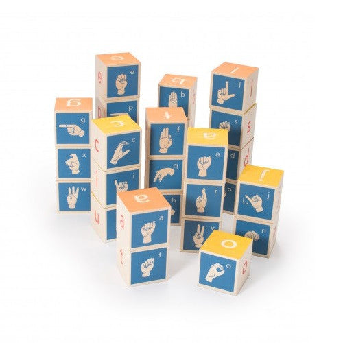 American Sign Language Building Blocks - Uncle Goose - Uncle Goose - Woozy Moo - 1