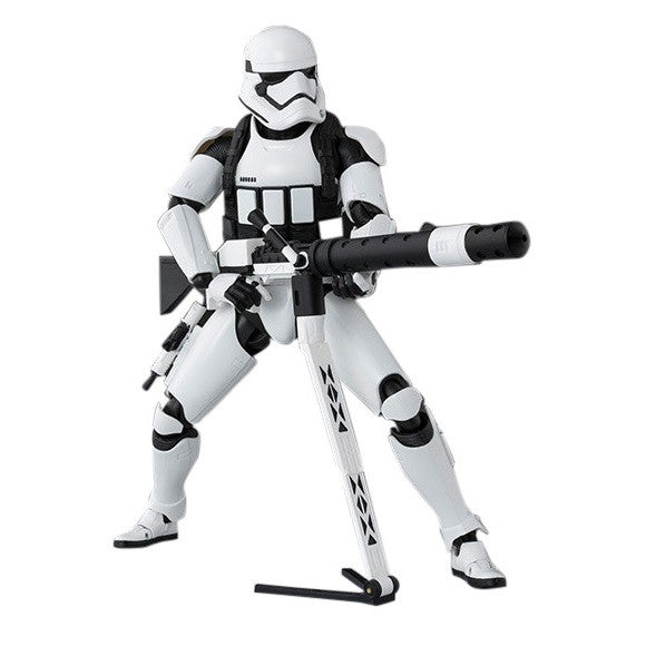 Star Wars: Force Awakens S.H. Figuarts First Order Heavy Gunner Stormtrooper - Bandai - Woozy Moo - 1