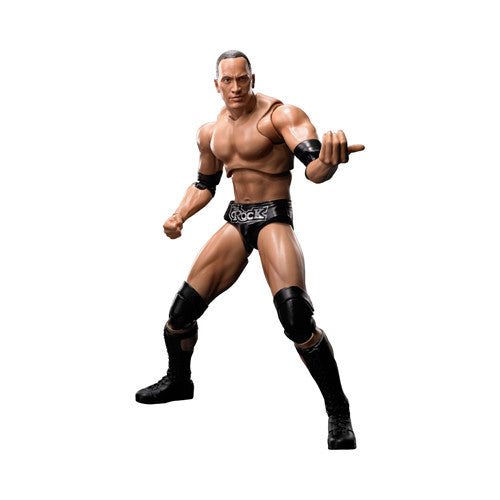WWE Wrestlers: The Rock - S.H. Figuarts - Bandai - Woozy Moo - 1