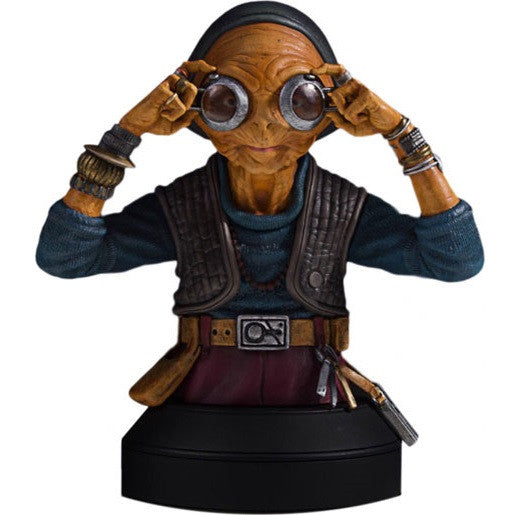 Star Wars - Maz Kanata 1/6 Scale  Deluxe Mini Bust - Gentle Giant - Woozy Moo - 1