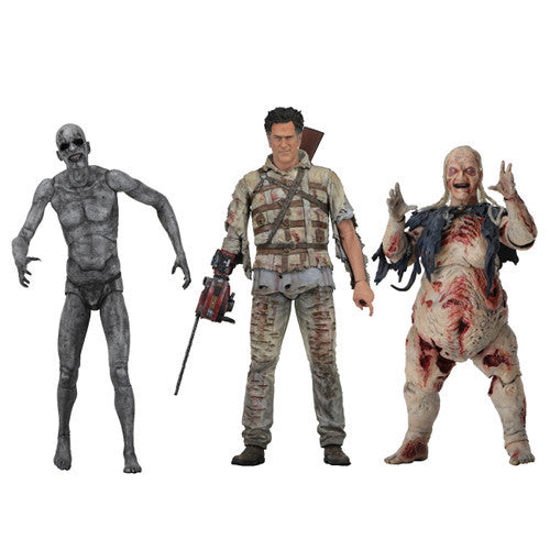 "Series 2 Assortment (Asylum Ash, Adult Demon Spawn, Henrietta) | Ash vs Evil Dead | 7"" Scale Action Figures 