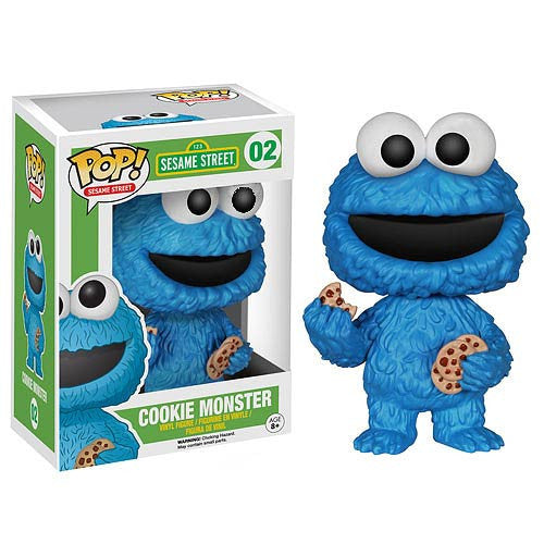 Sesame Street Cookie Monster Pop! Vinyl Figure - Funko - Woozy Moo