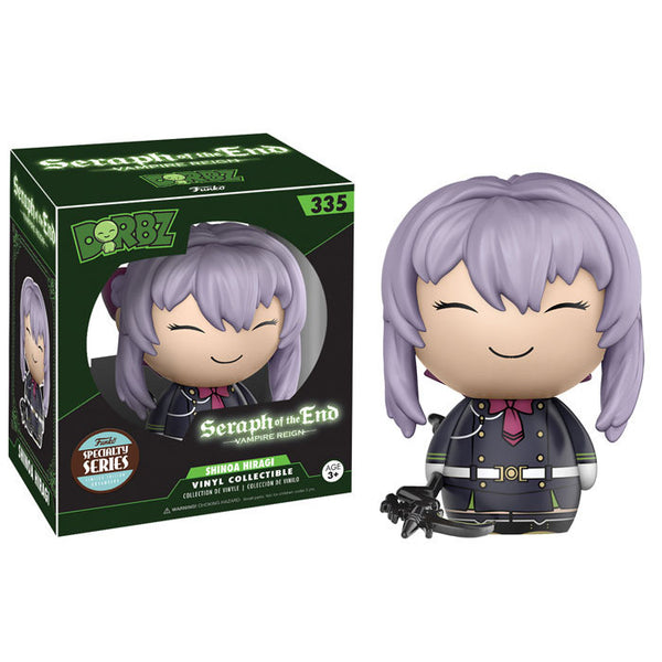 Hiragi Shinoa with weapon (Specialty Series Exclusive) - Seraph of the End - Dorbz Vinyl Collectible - Funko - Woozy Moo