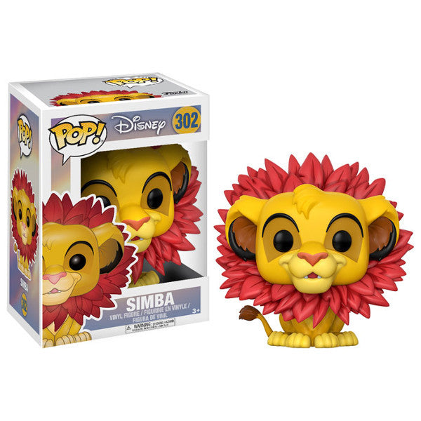 Simba (leaf mane) - Disney's Lion King - Pop! Vinyl Figure - Funko - Woozy Moo
