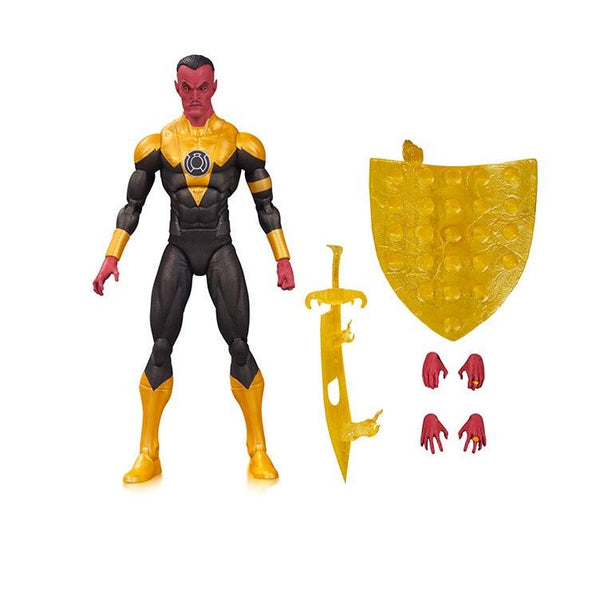 "DC Comics Icons - Sinestro 6"" Figure - DC Collectibles - Woozy Moo"