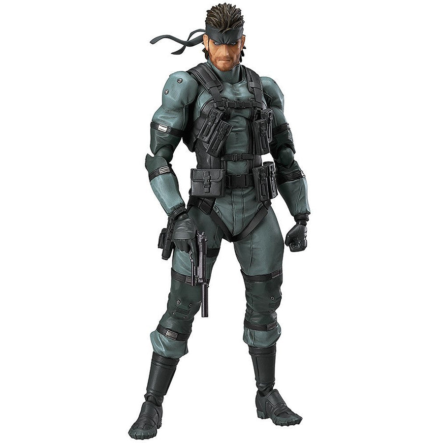 Solid Snake: MGS2 ver. | Metal Gear Solid 2: Sons of Liberty | figma 243 | Max Factory | Woozy Moo