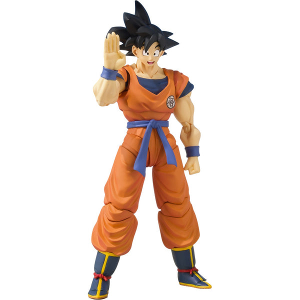Son Goku (A Saiyan Raised On Earth) | Dragon Ball Z | S.H.Figuarts | Bandai Tamashii Nations | Woozy Moo