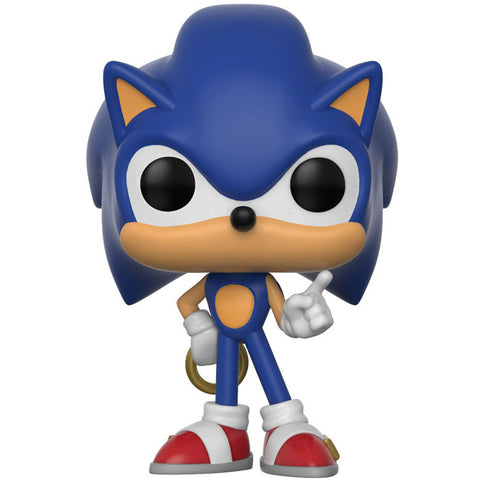 Sonic Ring Pop Games Vinyl Figure