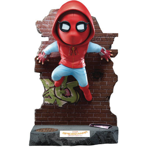 Spider-Man | Spider-Man: Homecoming (Marvel Cinematic Universe) | EA-029 EGG attack Statue | Beast Kingdom | Woozy Moo