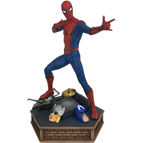 "Spider-Man Homecoming Marvel Premier Collection 12"" Resin Statue Limited Edition"