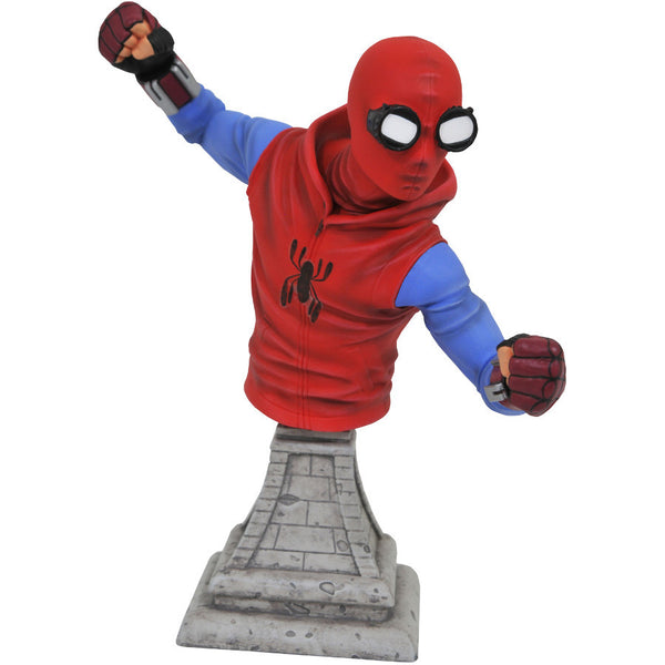 Spider-Man (homemade suit) | Spider-Man: Homecoming (Marvel Cinematic Universe) | Bust | Diamond Select Toys / Gentle Giant | Woozy Moo