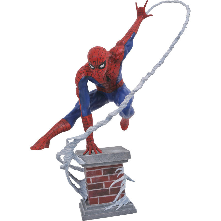 "Spider-Man (Limited Edition) | Amazing Spider-Man (Marvel) | Premier Collection 12"" Scale Resin Statue 