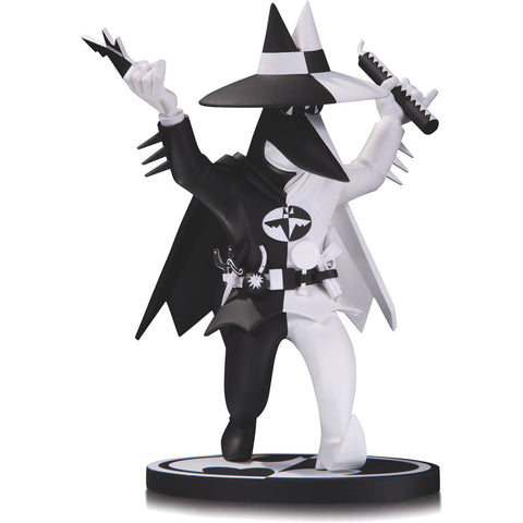 Spy vs Spy Peter Kuper Batman Black White Statue (B&W) Limited Edition