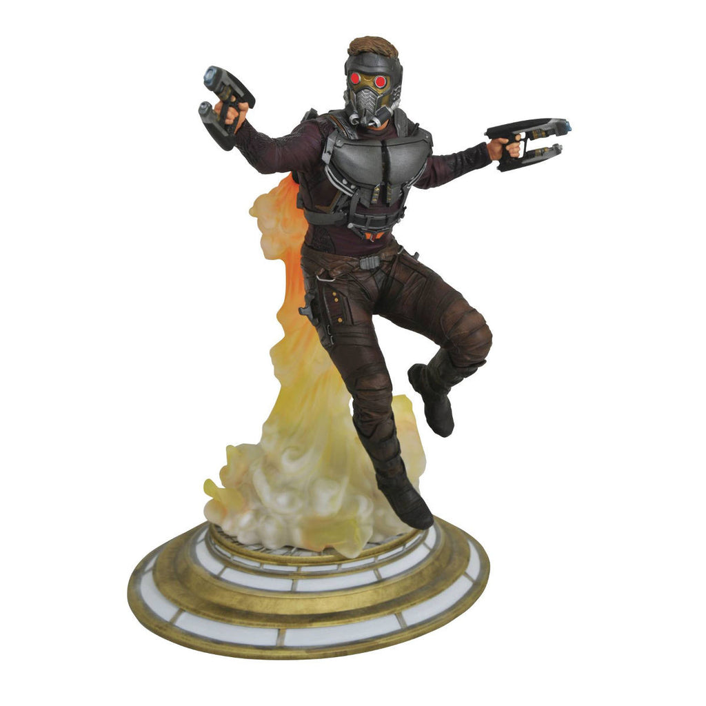 Star-Lord (jet-pack) - Marvel Gallery Guardians of the Galaxy Vol. 2 - PVC Diorama Figure - Diamond Select Toys - Woozy Moo