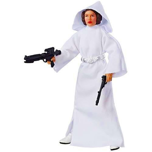 "Star Wars - Black Series 6"" 40th Anniversary Figure Wave 01 - Princess Leia Organa - Hasbro - Woozy Moo"